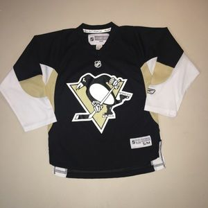 NHL Reebok Pittsburgh Penguins Youth Jersey S/M